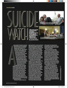 Warrior Wire 0515 - Suicide Watch